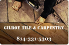 Gilroy Tile and Carpentry Logo